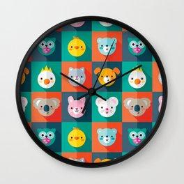 PET PARADE Wall Clock