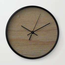 Maple Wood Grain Texture Study Wall Clock