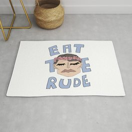 Eat The Rude Rug