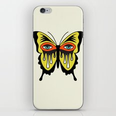 BUTTERFL-EYE iPhone & iPod Skin