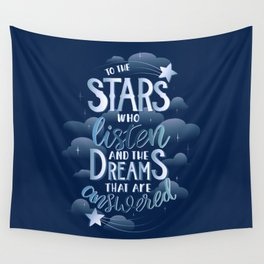 Night Court Book Quote ACOTAR Wall Tapestry