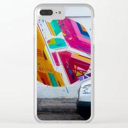 WhiteVan Clear iPhone Case