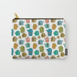 Pattern Project / Dogs Carry-All Pouch