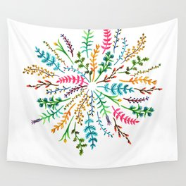 Radial Foliage Wall Tapestry
