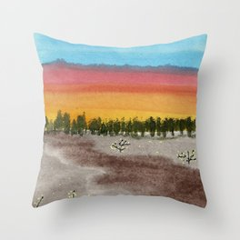 skyscapes 6 Throw Pillow
