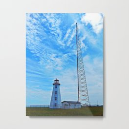 Old and New in North Cape PEI Metal Print