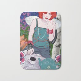 Alys in Wonderland Bath Mat