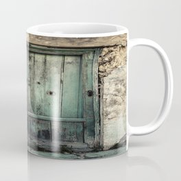 Old Green Door Coffee Mug