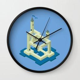 Isometric Valley Wall Clock