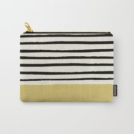 Daffodil Yellow x Stripes Carry-All Pouch
