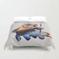 ewok Duvet Covers featuring Uniwoktar by bmeow