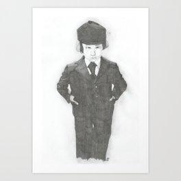 Damien. Art Print