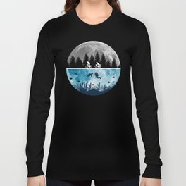 Close Encounters of the Moon Long Sleeve T-shirt