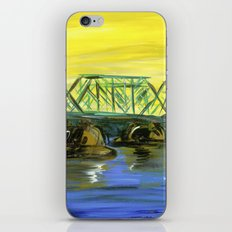 New Hope-Lambertville Bridge iPhone & iPod Skin