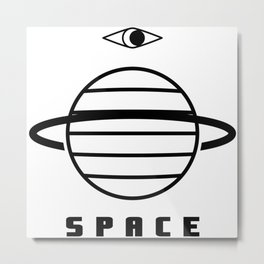 THIS SPACE BY MARODIN Metal Print