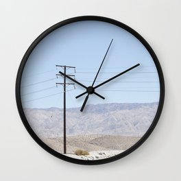 P A L M S P R I N G S Wall Clock