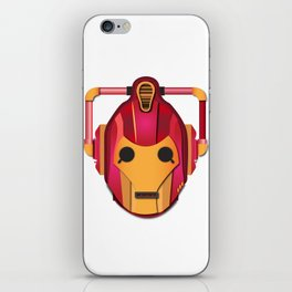cyber iron man iPhone Skin