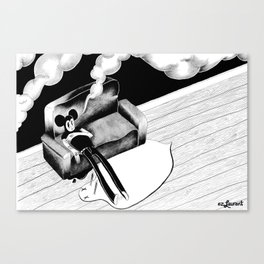 Smoke Up  Canvas Print