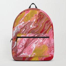 Rose Gold Waves Backpack