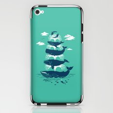 Whale of a Time iPhone & iPod Skin