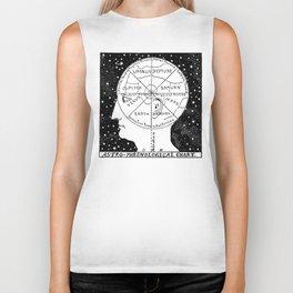 Astro Phrenological Chart Biker Tank