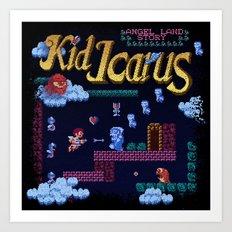 Icarus Kid Art Print
