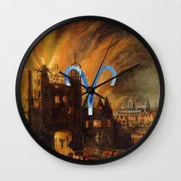 Fine Zodiac / Aries Wall Clock