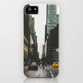 Winter In the Streets iPhone Case