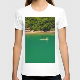 Beach in Buzios, Rio de Janeiro (Brasil) T-shirt