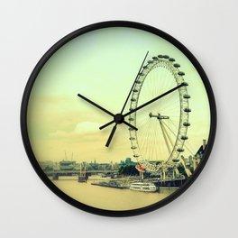 Impressions of London Wall Clock