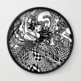 Traveler Dancers Wall Clock