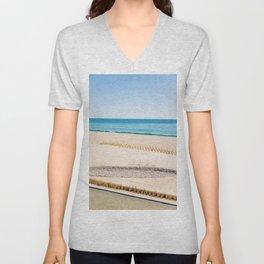 Beach and Ocean Unisex V-Neck