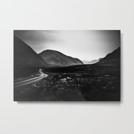Into Glen Etive Metal Print