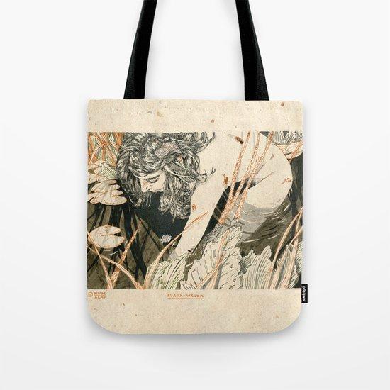 The black water Tote Bag