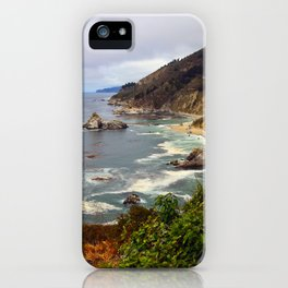 View from Ragged Point iPhone Case