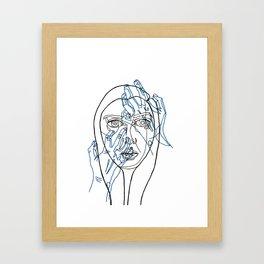 Gouge Framed Art Print