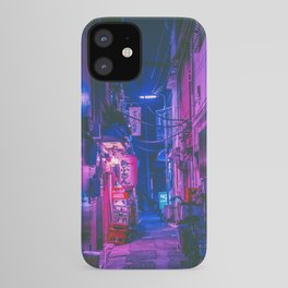 The Neon Alleyway Ghost iPhone Case