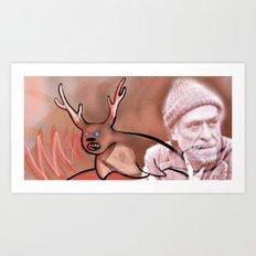 Sealalope Screams Bukowski Art Print