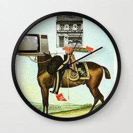 Die Sache mit dem Pferd Wall Clock