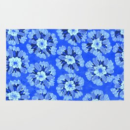 Blue Dakota Rose Rug