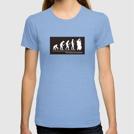 The theory of evolution(contrabass) T-shirt