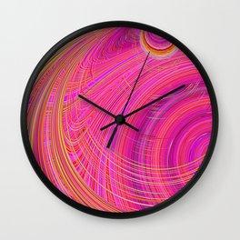 Re-Created  Hurricane 6 by Robert S. Lee Wall Clock