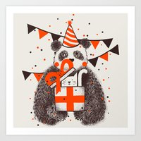 happy birthday Art Prints featuring Happy Birthday by Tobe Fonseca