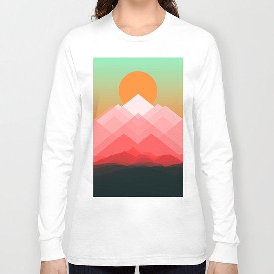 Mountains VVIX Long Sleeve T-shirt