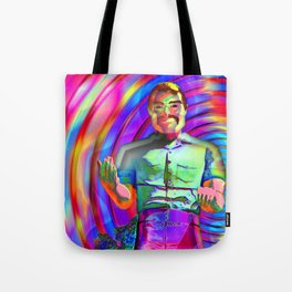 The Muffler Man vortex; Tote Bag