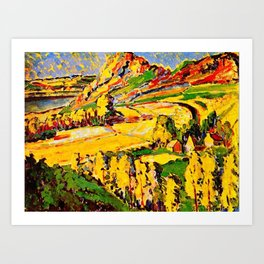 Autumn in France by Emily Carr Art Print