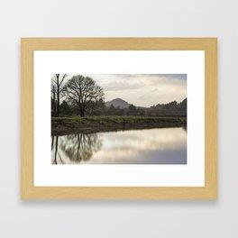 Rainy Day Turnaround Framed Art Print