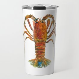 Spiny lobster Travel Mug
