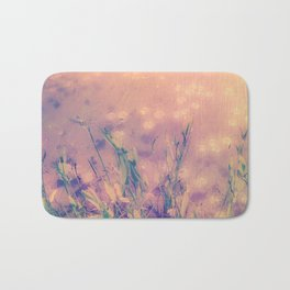 Lotus Pond and Spring Sunshine Bath Mat