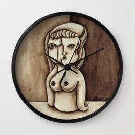 Muñequita con tetas de azucar Wall Clock